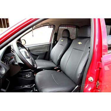 Imagem de Capas Em Couro Para Bancos Automotivos Carro P Chevrolet Celta 2000 2001 2002 2003 2004 2005 2006 2007 2008 2009 2010 2011 2012 2013 2015 2016