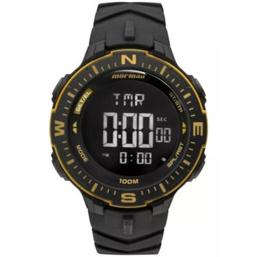 5c520a6b30f Relógio Masculino Mormaii Action MONK005 8D Preto