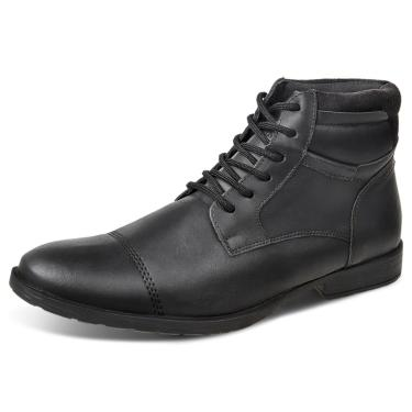 Bota Dress Boot Sandro Republic Grajaú Preta  masculino