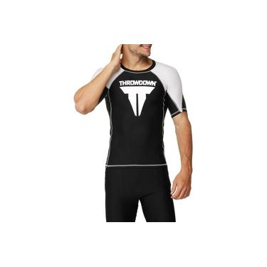 Camiseta Lycra Throwdown De Alta Compressão
