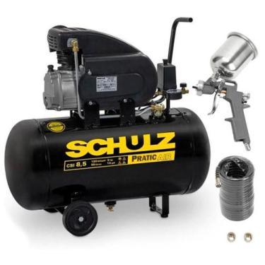 Compressor Motocompressor de Ar 2,0 HP 8,5 Pés 50 Litros CSI 8,5/50 Pr