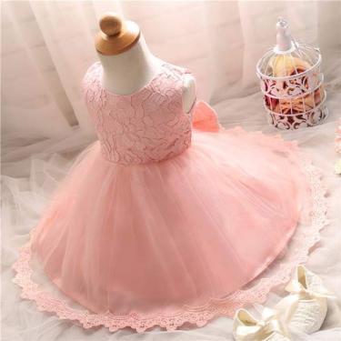 Vestido de Festa Infantil Princesas