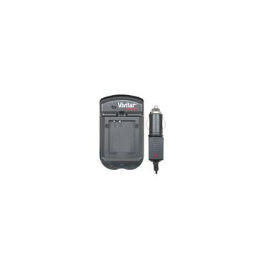 Imagem de Carregador de bateria para câmera Panasonic com carregador veicular - Vivitar