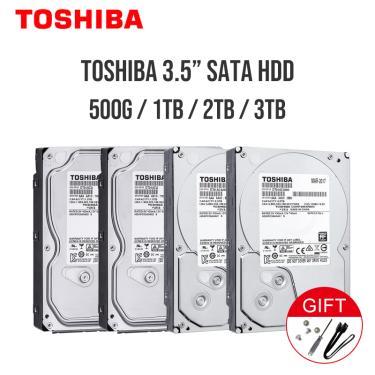 """Toshiba 1tb 2tb 3tb 4tb 6tb 8tb 10tb disco rígido hd 3.5 """"7200rpm 32mb 64mb 128m 256mb sata3"""