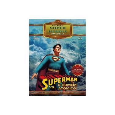 Imagem de Box Superman O Homem Vs. Atômico Coleção Super Heróis Do Cinema 02 Dvds