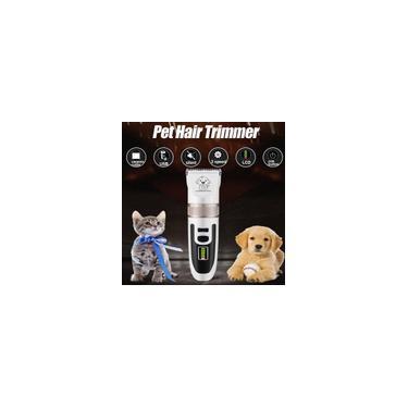 Imagem de Jogo de cortador de cabelo recarregável para gatos - null branco