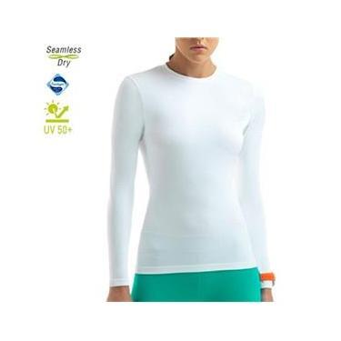 Camiseta Lupo Feminina Térmica Com Proteção UV Manga Longa Lupo ref. 71610