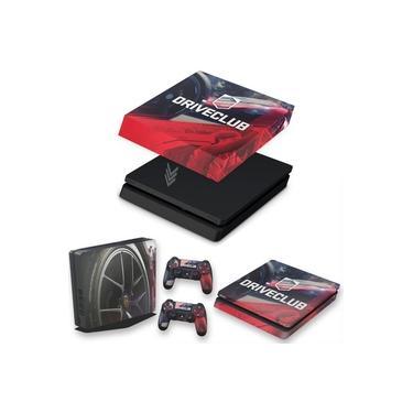 Capa Anti Poeira e Skin para PS4 Slim - Driveclub