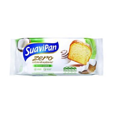 Bolo de Coco sem Açúcar 250g - Suavipan