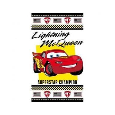 Imagem de Toalha de Banho Felpuda Disney Cars Champions Carros Santista