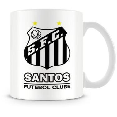 2b355c4cdc Caneca Personalizada Porcelana Santos Futebol Clube