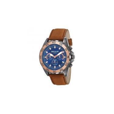 74c0c940308 Relógio Seculus Masculino Ref  20591gpsvsc1 Cronógrafo Black -