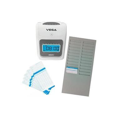 Relógio Ponto Vega com chapeira de 24 Lug. e 100 cartões