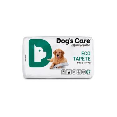 Tapete Higiênico Cães Grande Porte Dog´s Care C/7 Unidades