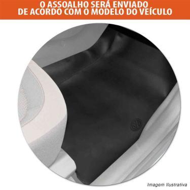 Imagem de Protetor de Assoalho VW Gol G1 Quadrado 1980 a 1995 Em Couro Ecológico Impermeável Preto