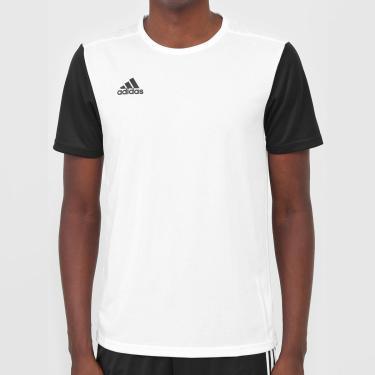 Camiseta Estro Branca E Preta - Adidas