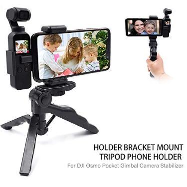 Suporte de suporte, Entweg Suporte do suporte suporte do telefone tripé para dj osmo bolso estabilizador câmera estabilizador