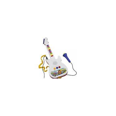 Brinquedo Infantil Guitarra Musical Com Microfone - Toy King