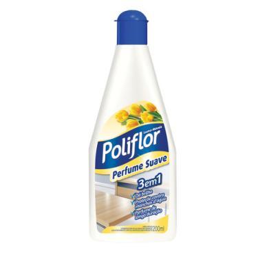 Lustra Móveis Poliflor Perfume Suave 200ml d3fb9e84ba20c