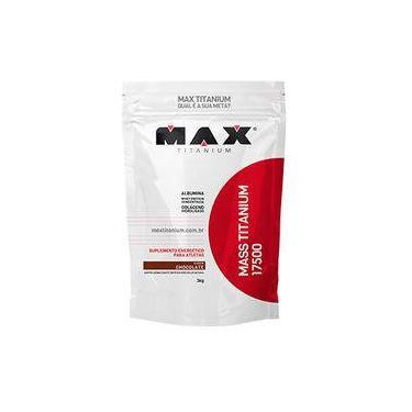 Promoção Todos Sabores Hipercalorico Mass Titanium 17500 (3kg) - Max Titanium