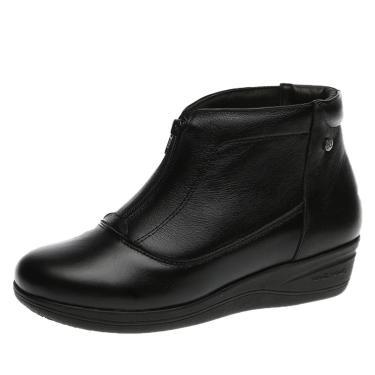 Imagem de Bota Feminina Anabela Doctor Shoes 155 Preto 155-PRETO-186-1042 feminino