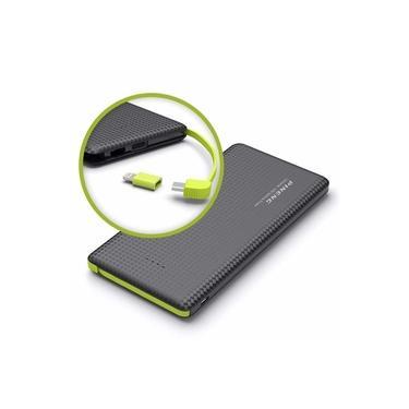 Carregador Portátil PowerBank clr p/ Asus Zenfone 4 Selfie Pineng 10000mAh Pn-951 Preto Original c/ Selo