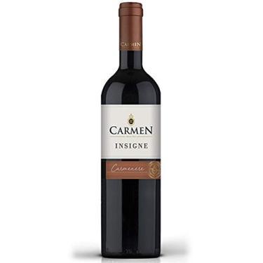 Vinho Chileno Carmen Insigne Carmenere 750ml