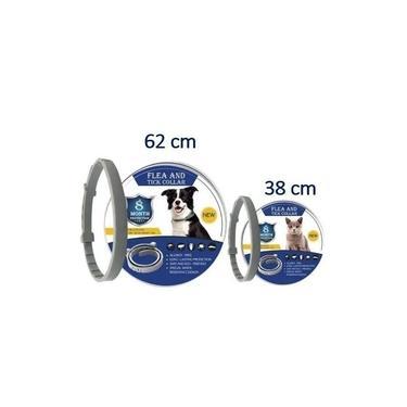 Coleira 62 cm 5 unidades repelente de mosquitos transmissores da Leishmaniose Gato Cachorro