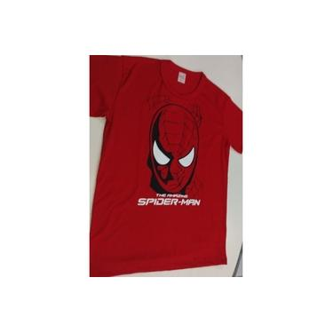 Camisa Homem Aranha TAM 10 Anos