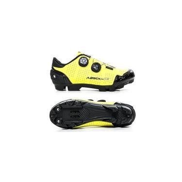 Sapatilha Ciclismo Absolute Mtb Prime Amarelo Fluor Tam 38