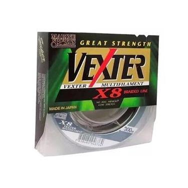Linha Pesca Multifilamento Vexter X8 0.29mm 40lb 300m 8 Fios