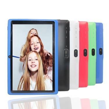Imagem de Tablet infantil com 7 modos de android 4.4, 4gb, quad core, q88, bluetooth, wi-fi, painéis de tablet