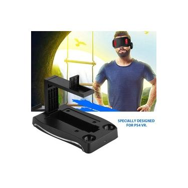 For PS4 VR PS Move Game Controller Charging Dock Charger Station Stand Holder