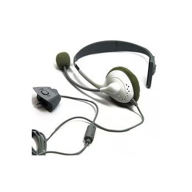 Headset Branco Xbox 360 Headphone Gamer Jogos Online - YDTECH
