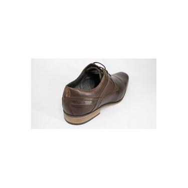 Sapato Ferracini Couro Float Conforto Café/Tabaco