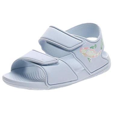 Imagem de Chinelo Infantil AltaSwim Adidas - Azul F34784 (30-31)