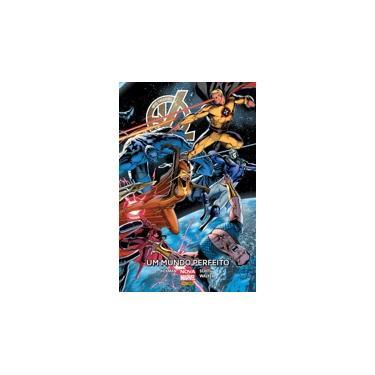 Novos Vingadores. Um Mundo Perfeito - Jonathan Hickman - 9788542610536