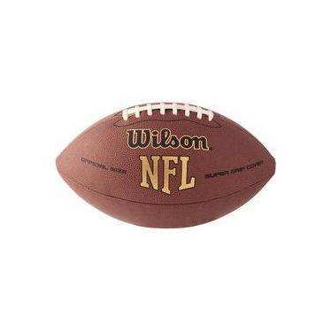 Bola de futebol americano Nfl Super Grip Tradicional Wilson 242fd849e921c