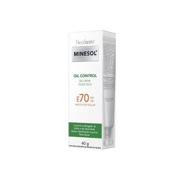 Protetor Solar ROC Minesol Oil Control Gel Creme FPS70 40g