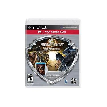 Jogo Mortal Kombat vs DC Universe (Combo Pack) - PS3