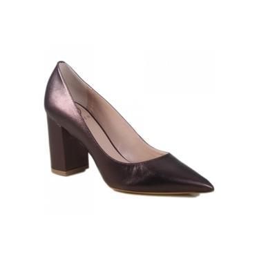 Sapato Scarpin Werner Napa Metalizada 20042166