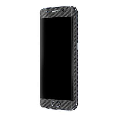 Skin Premium - Adesivo Fibra de Carbono Samsung Galaxy S6 Edge (Cinza)