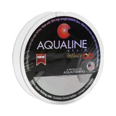 Linha Aquafishing Mult Infinity 8 0,38mm 50lb 150m - Cinza