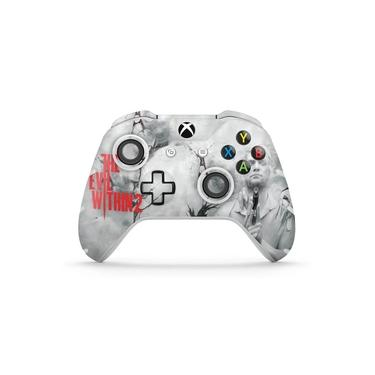 Skin Adesivo para Xbox One Slim X Controle - The Evil Within 2