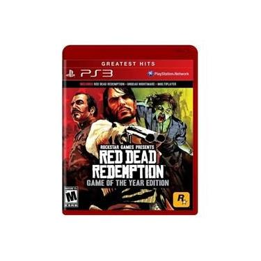 Jogo Red Dead Redemption (Game of the Year) - PS3