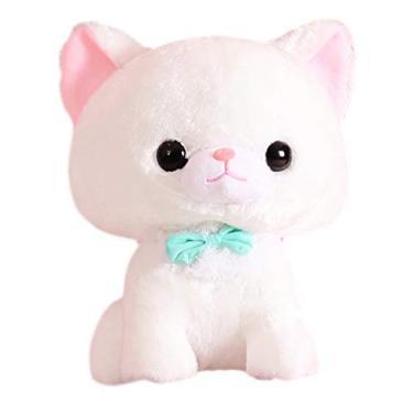 Imagem de Toyvian Bonito Gato De Pelúcia Bicho de Pelúcia Boneca de Brinquedo Animais Que Abraça O Descanso