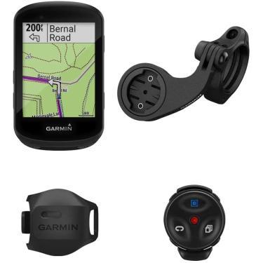 Imagem de Garmin Edge 530 Mountain Bike Bundle, Performance GPS Cycling/Bike Computer com Mapeamento, Monitoramento dinâmico de Desempenho e Roteamento de Popularidade, Inclui Sensor de Velocidade e Montagem de Mountain Bike
