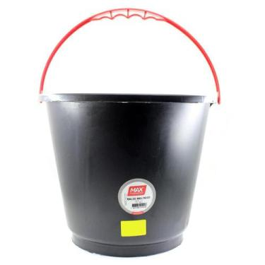 Balde plastico para concreto 12 litros max ferramentas 39510