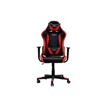 Cadeira Gamer Racer X Reclinável Vermelha