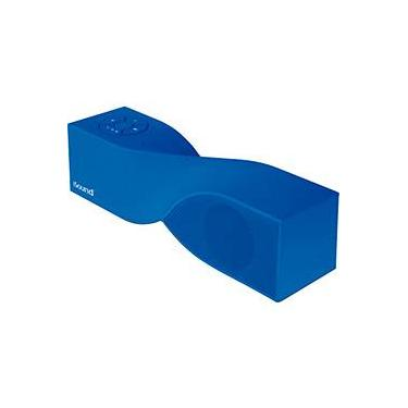 Caixa de Som Bluetooth Isound Twist Mini Azul